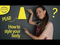 How to style a pear shaped body (triangle body) | Justine Leconte