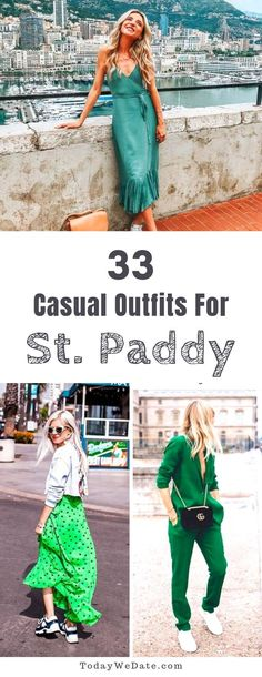 30 Trendy Holiday Outfits Travel Source by evianiol holiday outfits Casual Holiday Outfits, Winter Date Outfits, Cute Date Outfits, Holiday Party Outfit, Cute Spring Outfits, Night Outfits, Girl Outfits, Green Outfits, St Patrick's Day Outfit