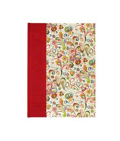 Address Book Large NOUVEAU RED by WolfiesBindery on Etsy