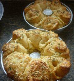 Rosca de queijo parmesão »
