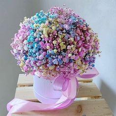 Beautiful Rose Flowers, Beautiful Flower Arrangements, Floral Arrangements, Beautiful Flowers, Flower Box Gift, Flower Boxes, My Flower, Dried Flowers, Paper Flowers