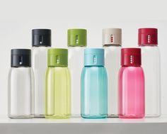 Dot Water Bottle with hydration counting lid