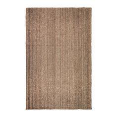 IKEA - LOHALS, Matto, kudottu, 200x300 cm, , Juutti on kestävää ja kierrätettävää materiaalia, jossa on luonnollisen elävä väri ja pinta.
