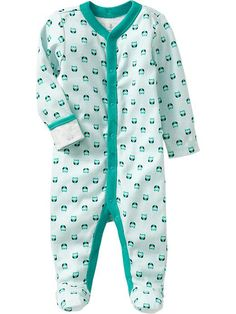 Old Navy | Printed Jersey One-Pieces for Baby