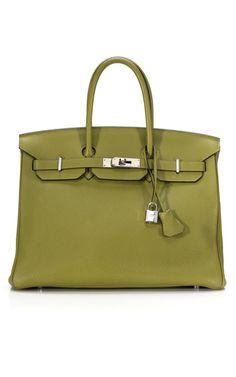 olive green vintage hermes birkin #bagporn