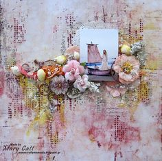 June InspirationTwo Layouts PLUS TWO VIDEO TUTORIALS By Mary Catt