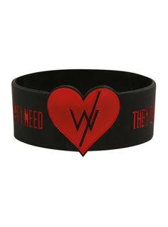 Sleeping With Sirens Love Is Forever Rubber Bracelet | Hot Topic