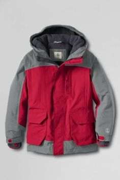 75e71551 Boys' Waterproof Squall Parka from Lands' End - Bought for $39.99 on 1/