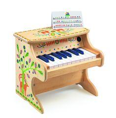 De 1 iunie, daruim muzica! ^_^ Pianul electronic de la DJECO va ramane pentru copilas primul instrument de suflet.