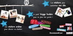 Étiquettes/stickers pour enfants