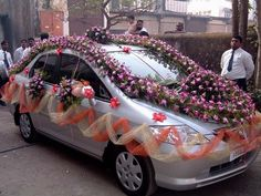 Image detail for -Indian Wedding Car Decoration Indian Wedding Car Decoration 4 . The Effective Pictures We Offer You About wedding cars for bridesmaids A quality picture can tell you many things. Wedding Car Decorations, Ceremony Decorations, Flower Decorations, Wedding Bride, Wedding Venues, Wedding Day, Wedding Stage, Wedding Rentals, Wedding Attire