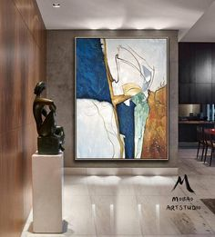 Original Abstract Painting, Minimalist Abstract Painting, Large Abstract Painting, Beige Painting Green Painting, Large Wall Canvas Painting Oturma Odası – home accessories Blue Abstract Painting, Oil Painting On Canvas, Abstract Paintings, Large Painting, Large Abstract Wall Art, Modern Art Paintings, Abstract Portrait, Portrait Paintings, Large Art