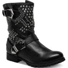 Modern Vice Shoes, Pantera Studded Boots