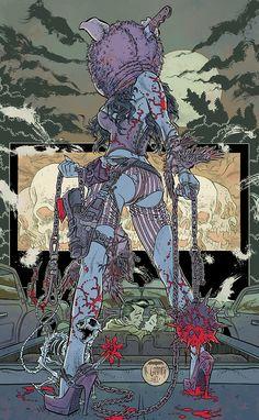 VERTIGO COMICS - THE UNEXPECTED Cover By R. Grampa