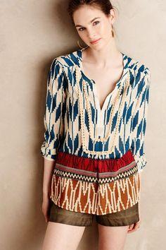 Rohana Embellished Henley - anthropologie.com #anthrofave