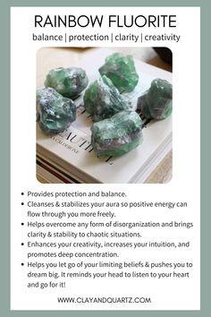 Crystals For Manifestation, Meditation Crystals, Types Of Crystals, Stones And Crystals, Crystal Collection, Rock Collection, Chakra Crystals, Healing Crystals, Crystal Identification