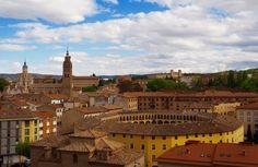 Panorámica de la ciudad de Tarazona