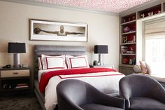 Project Reveal – A Sophisticated Bedroom for Young Star Athlete