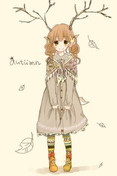 #mori, #morikei, #forestgirl  http://cottonmilkk.tumblr.com/