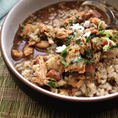 Use the broth from your leftover turkey to make this tasty gumbo #EmerilsHoliday