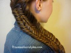 Fishtail Illusion Braid (Mermaid Braid) Hairstyle How to Video Tutorial