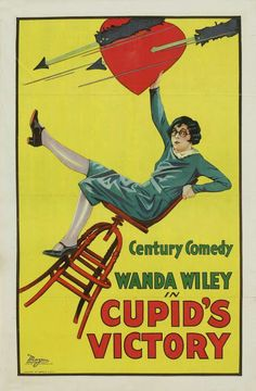 1925 Cupid's Victory   ART & ARTISTS: Film Posters 1913 - 1929