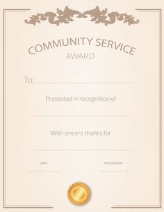 Use these free printable certificates to show appreciation to your volunteers. Customizable certificates help you recognize volunteers for their good work and service to your organization.