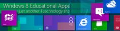 Windows 8 apps for education | Just another Teachnology site