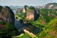 China's Danxia Landscapes, China (UNESCO site) #bucketlist #tripbucket