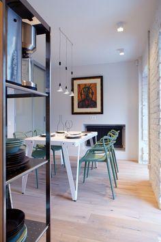 Apartment in Kiev by Olga Akulova Design - Masters Chair - Starck