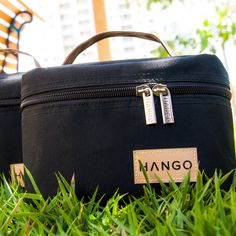 Amazon.com: Lunch Bag Hango™ - Set of Two Sizes (Small and Large) - Black Deluxe Insulated Bags for Adults and Children with a Beautiful Cotton Gift Bag - Durable Product for Women and Men - Premium Design with Totes - Perfect Cooler Reusable Lunch Box to Carry Your Food and Snack - Protect Your Investment - Best Lifetime Guarantee!: Kitchen & Dining