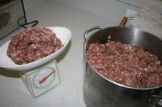 Wild Hog Sausage