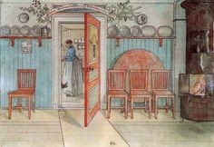 """Carl Larsson. Old Anna (from """"A Home"""" series), c. 1895. Nationalmuseum, Stockholm"""