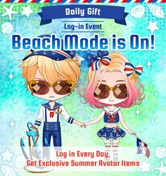 Shall we date? : Wizardess Heart+Log-in Event: Beach Mode is On!