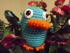 Perry the platypus! Free amigurumi patterns