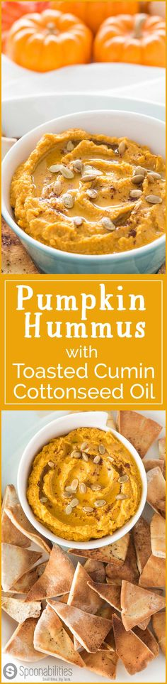 Pumpkin Hummus is super easy, and you only need a few ingredients and the food processor, and in less than 5 minutes you have a healthy appetizer. Spoonabilities.com