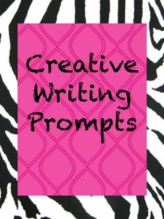 *Creative Journal Writing Prompts*