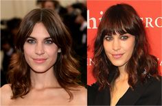The 20 Hottest Shoulder-Length Hairstyles: Two Versions of Alexa Chung's Shag Hairstyle