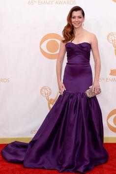 Premios Emmy 2013 Alyson Hannigan in colección crucero 2014 de Marchesa