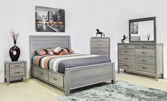 Robina Storage bed comes in a light grey finish, making it able to combine with any decor in your bedroom. Refresh you bedroom with a stylish and modern bed Wood Bedroom, Bedroom Furniture, Bedroom Ideas, Best Mattress, Solid Wood Furniture, Bed Styling, Bed Storage, Furniture Inspiration, Bed Frame
