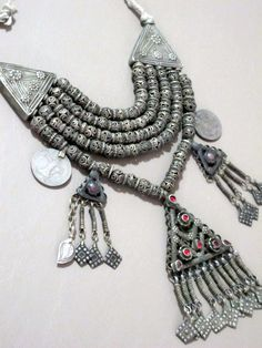Vintage Kashmir Necklace