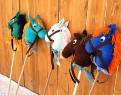 STICK HORSE - PONY - Hobby Horse - One of a kind & ready to ship!
