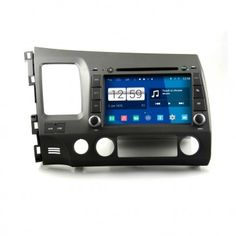 Autoradio Android HONDA Civic Poste DVD GPS Android 4.4.4 USB Bluetooth écran tactile Mirrorlink AirPlay 4G IPOD Iphone TV