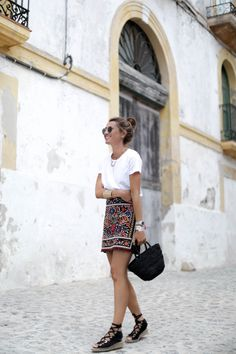 OOTD: Style Lovely Masters Vacay Chic in a Look-at-Me Mini #RueNow