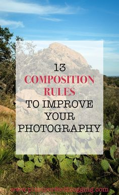 Do you struggle with taking interesting photos for your blog? Click here to find 13 composition rules to improve your photography including examples of perspective, framing, rule of thirds and more creative inspiration. #blogphotography #photographytips #composition