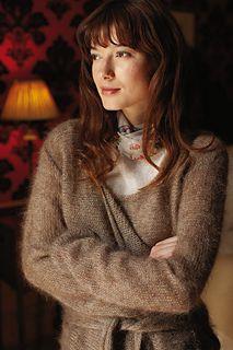 Pismo knitted cardigan rowan kidsilk haze vintage 250 g size L villatakki kietaisuneule neuletakki mohair