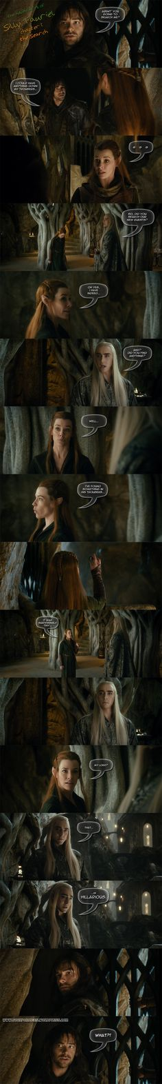 The Adventures of Silly Tauriel Chapter 1 - the Search by yourparodies.deviantart.com on @DeviantArt