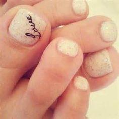 wedding toe nail designs - Bing Images