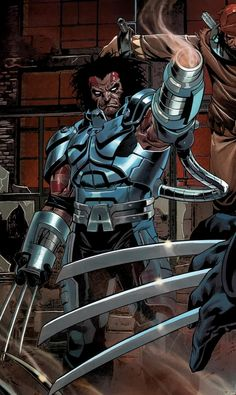 Wolverine: Age of Apocalypse by Mark Brooks