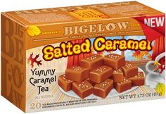 Who wouldn't want to try our new seasonal tea Salted Caramel??  Yum! #BigelowTea #caramel